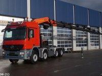 Sonstige Mercedes Benz Actros 4160 V8 8x4 Palfinger 100 ton/meter laadkraan Camion de carga