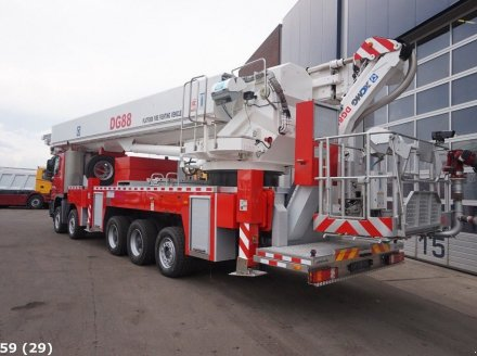 Sonstige Mercedes Benz Actros 5548 88 meter Platform fire fighting vehicle unused LKW