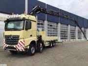 LKW типа Sonstige Mercedes Benz Arocs 4145 8x4 Euro 6 Hiab 62 ton/meter laadkraan + JIB, Gebrauchtmaschine в ANDELST