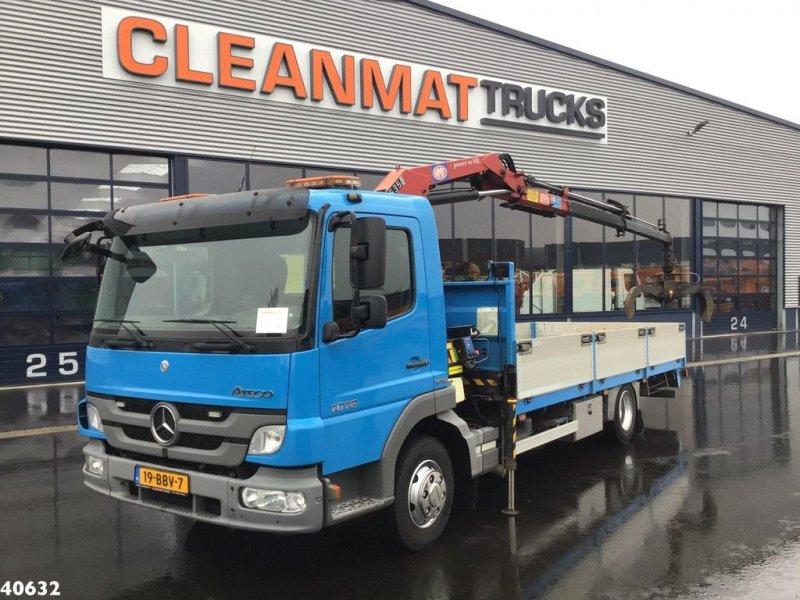 LKW типа Sonstige Mercedes Benz Atego 1018 HMF 5 ton/meter laadkraan, Gebrauchtmaschine в ANDELST (Фотография 1)