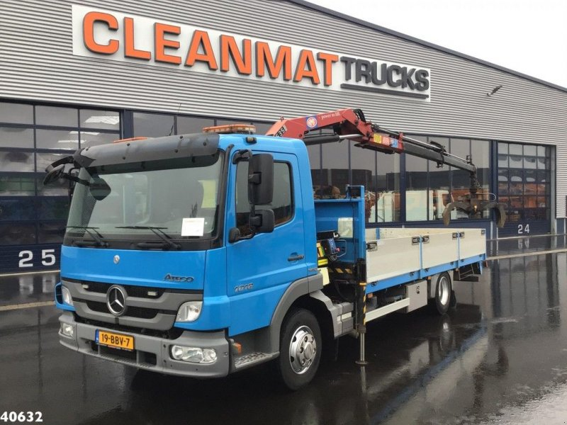 LKW typu Sonstige Mercedes Benz Atego 1018 HMF 5 ton/meter laadkraan, Gebrauchtmaschine w ANDELST (Zdjęcie 1)