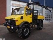Sonstige Unimog U 1700 L 4x4 Hiab 6 ton/meter laadkraan Camion