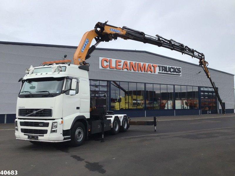 LKW типа Volvo FH 12.520 6x4 Effer 47 ton/meter laadkraan + JIB, Gebrauchtmaschine в ANDELST (Фотография 1)