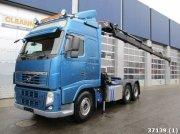 Volvo FH 12.540 6x4 Euro 5 Hiab 47 ton/meter laadkraan Φορτηγό
