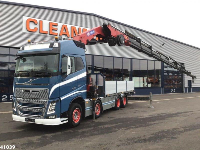 LKW tip Volvo FH 16.650 8x4 HMF 85 ton/meter laadkraan, Gebrauchtmaschine in ANDELST (Poză 1)