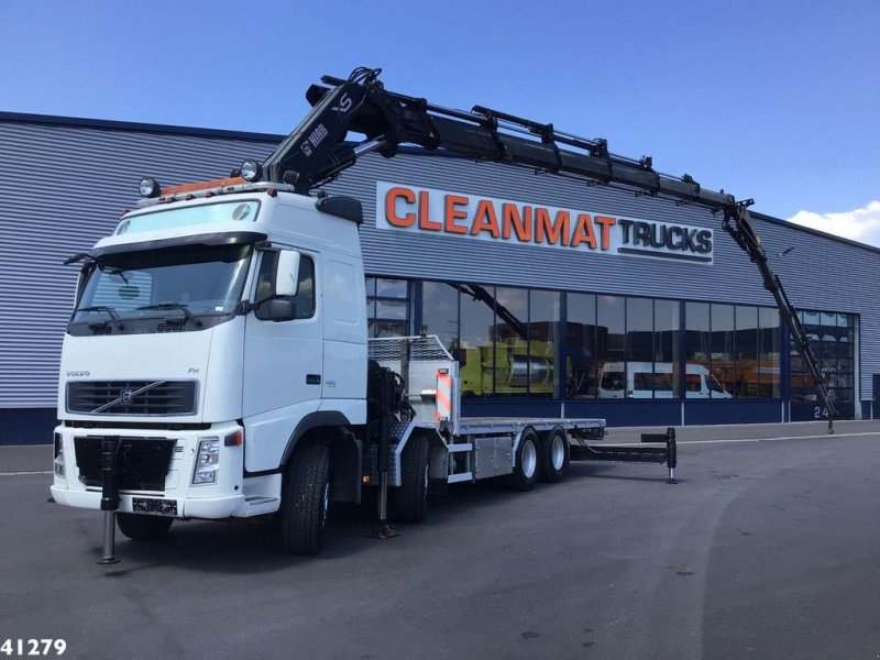 LKW tipa Volvo FH 480 8x4 Hiab 80 ton/meter laadkraan + Fly-Jib, Gebrauchtmaschine u ANDELST (Slika 1)