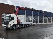 LKW типа Volvo FH 540 8x2 HMF 85 ton/meter laadkraan + JIB, Gebrauchtmaschine в ANDELST