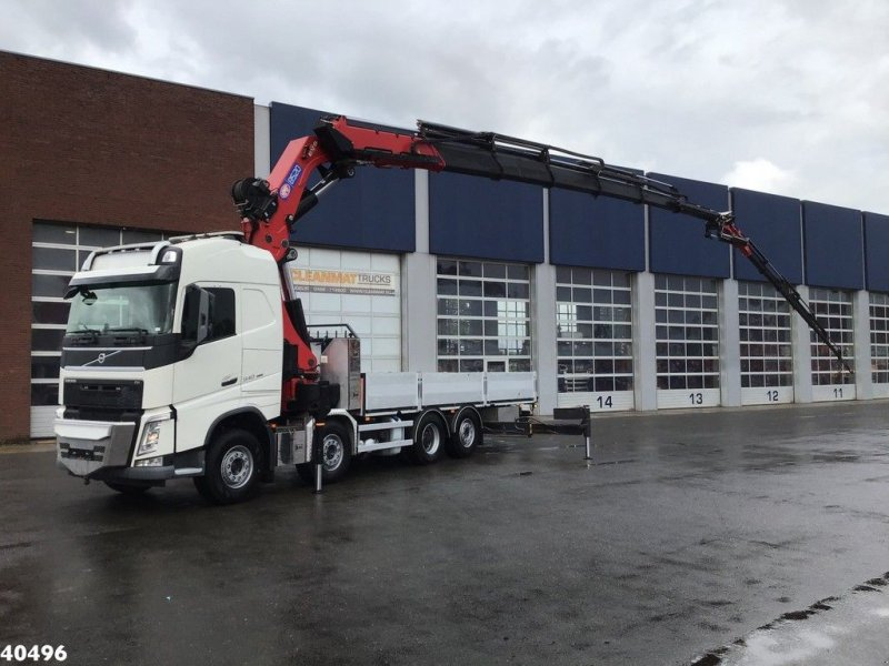 LKW typu Volvo FH 540 8x2 HMF 85 ton/meter laadkraan + JIB, Gebrauchtmaschine w ANDELST (Zdjęcie 1)