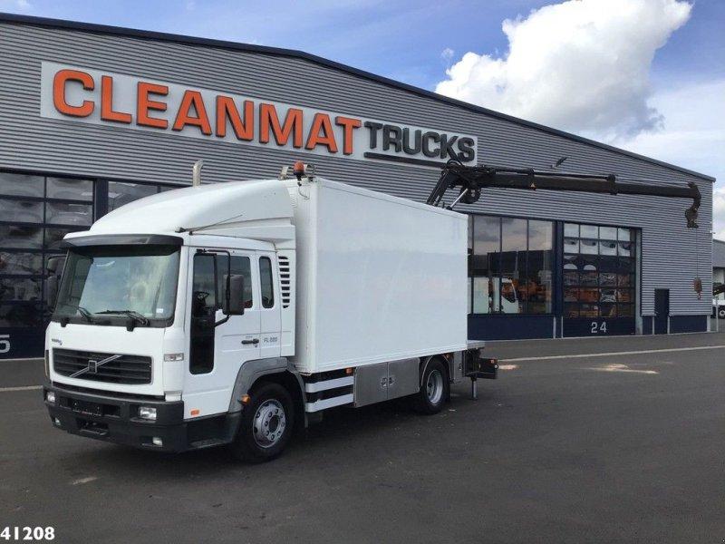 LKW типа Volvo FL 614 Mobiele service truck met Hiab 8 ton/meter laadkraan (bou, Gebrauchtmaschine в ANDELST (Фотография 1)