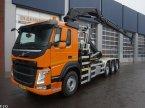 LKW του τύπου Volvo FM 420 8x2 Euro 6 HMF 28 ton/meter laadkraan σε ANDELST