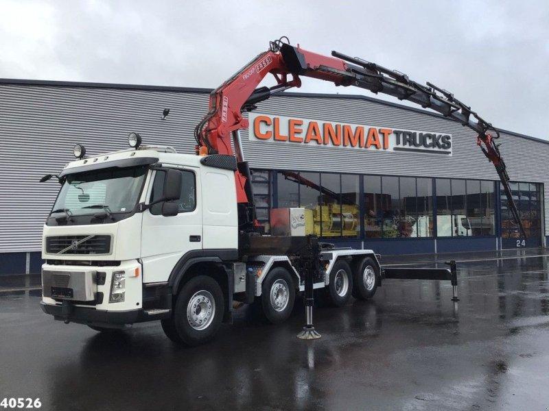 LKW типа Volvo FM 480 + Fassi 80 ton/meter laadkraan + Fly-JIB, Gebrauchtmaschine в ANDELST (Фотография 1)