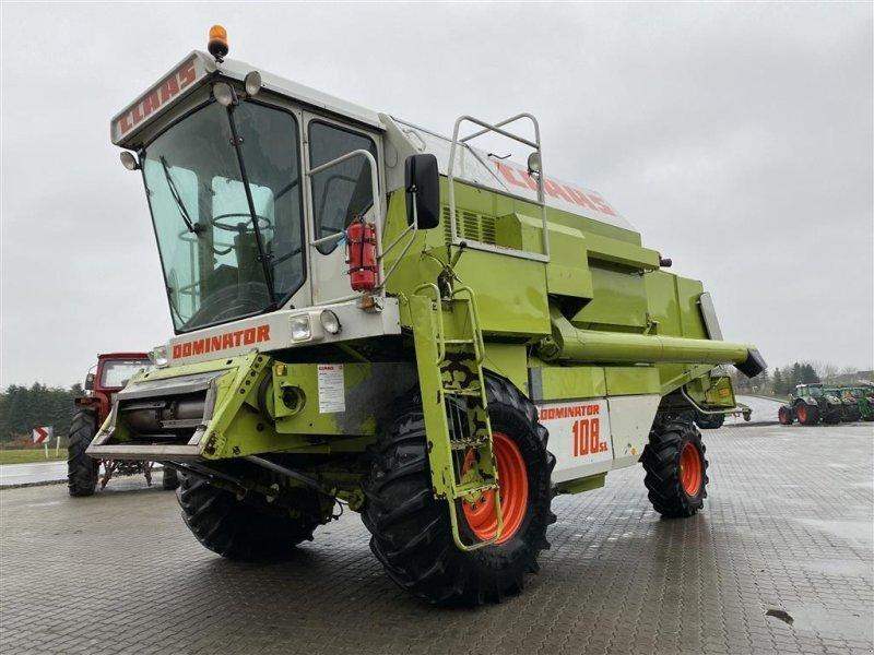 Mähdrescher des Typs CLAAS Dominator 108 SL MED 20 FODS SKÆREBORD OG SNITTER!, Gebrauchtmaschine in Aalestrup (Bild 1)