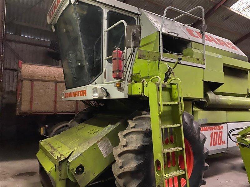 Mähdrescher des Typs CLAAS Dominator 108 SL, Gebrauchtmaschine in Kjellerup (Bild 1)
