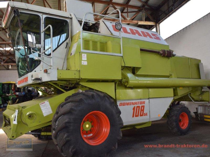 Mähdrescher des Typs CLAAS Dominator 108 SL, Gebrauchtmaschine in Bremen (Bild 1)