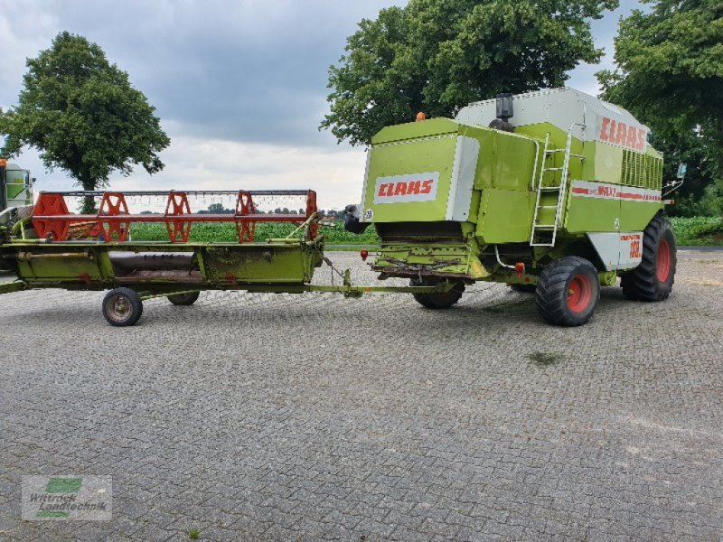 Mähdrescher des Typs CLAAS Dominator 108 SL, Gebrauchtmaschine in Rhede / Brual (Bild 11)