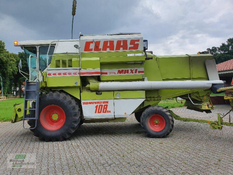 Mähdrescher des Typs CLAAS Dominator 108 SL, Gebrauchtmaschine in Rhede / Brual (Bild 8)