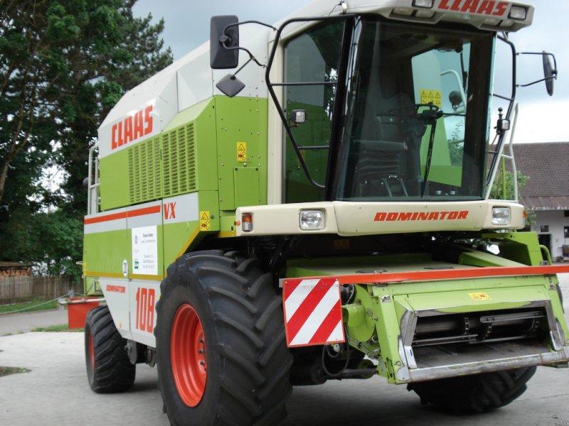 Mähdrescher des Typs CLAAS Dominator 108 VX, Gebrauchtmaschine in Berglern (Bild 1)