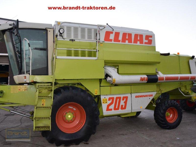 Mähdrescher des Typs CLAAS Dominator 203 Mega, Gebrauchtmaschine in Bremen (Bild 1)