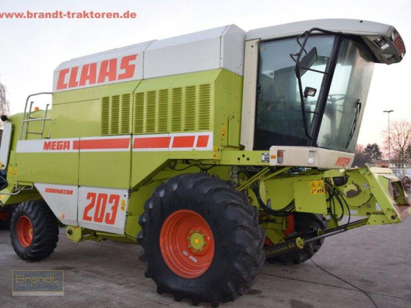 Mähdrescher des Typs CLAAS Dominator 203 Mega, Gebrauchtmaschine in Bremen (Bild 2)