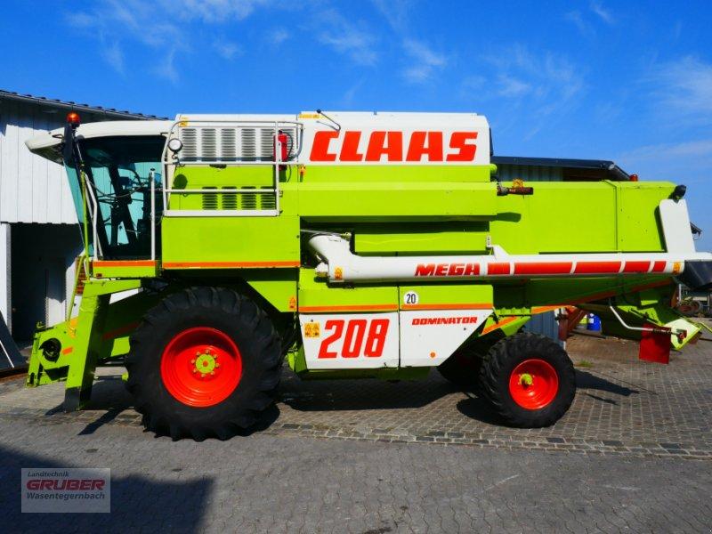 Mähdrescher des Typs CLAAS Dominator 208 Mega II inkl. C600, Gebrauchtmaschine in Dorfen (Bild 25)
