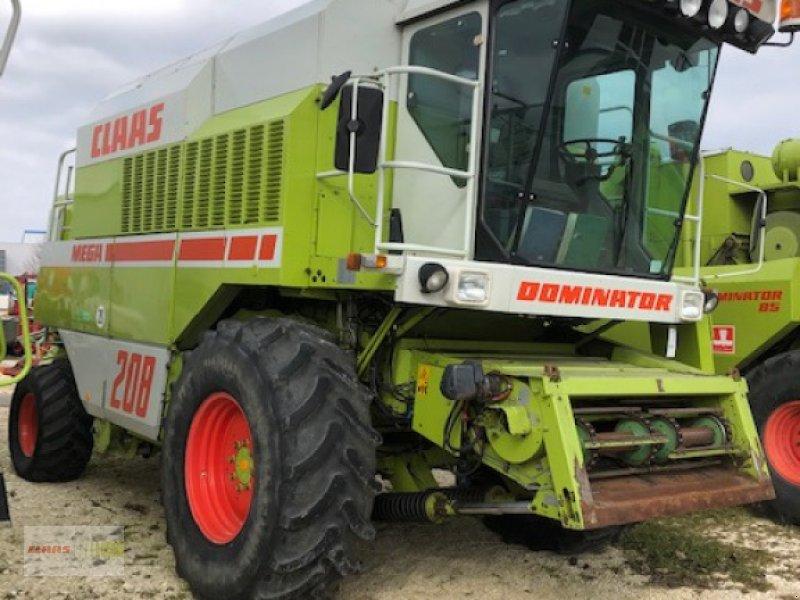 Mähdrescher des Typs CLAAS Dominator 208 Mega, Gebrauchtmaschine in Langenau (Bild 1)