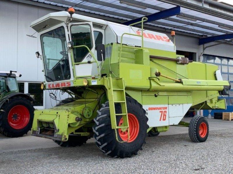 Mähdrescher des Typs CLAAS Dominator 76 Mercedesmotor, Kabine, Gebrauchtmaschine in Schutterzell (Bild 15)