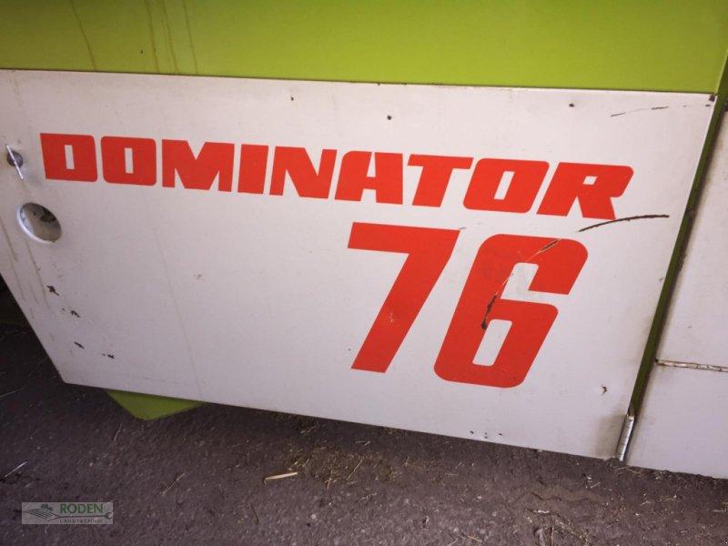 Mähdrescher del tipo CLAAS Dominator 76, Gebrauchtmaschine en Lensahn (Imagen 4)