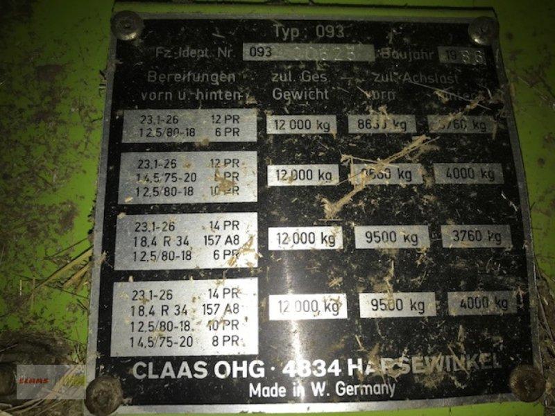 Mähdrescher des Typs CLAAS Dominator 98 SL, Gebrauchtmaschine in Tuningen (Bild 22)