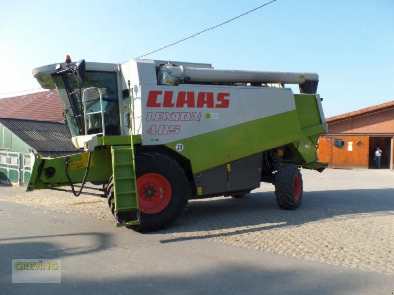 Mähdrescher des Typs CLAAS Lexion 405, Gebrauchtmaschine in Werne (Bild 1)