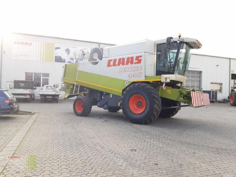 Mähdrescher des Typs CLAAS LEXION 440, Gebrauchtmaschine in Vohburg (Bild 1)