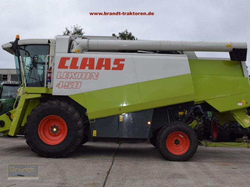 Mähdrescher des Typs CLAAS Lexion 450 *3-D*, Gebrauchtmaschine in Bremen (Bild 1)