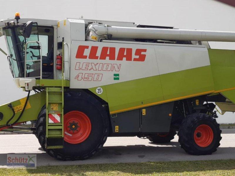 Mähdrescher des Typs CLAAS Lexion 450, Bj. 2000, Vario 600, 3D, Mercedes Motor, 2878 Bh, Gebrauchtmaschine in Schierling (Bild 1)