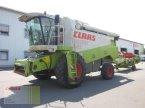Mähdrescher des Typs CLAAS LEXION 450 mit SW C 600 AC u. SW-Wagen in Molbergen