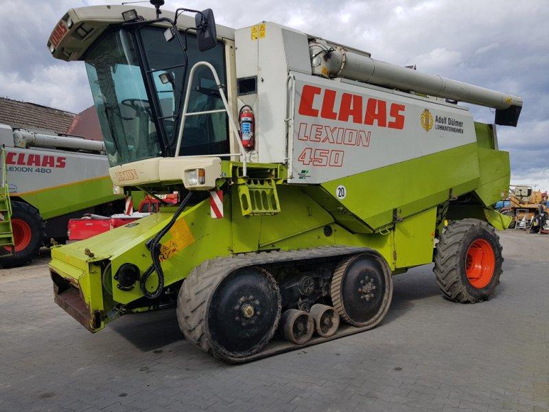 Mähdrescher des Typs CLAAS Lexion 450 TT, Gebrauchtmaschine in Korfantow (Bild 1)