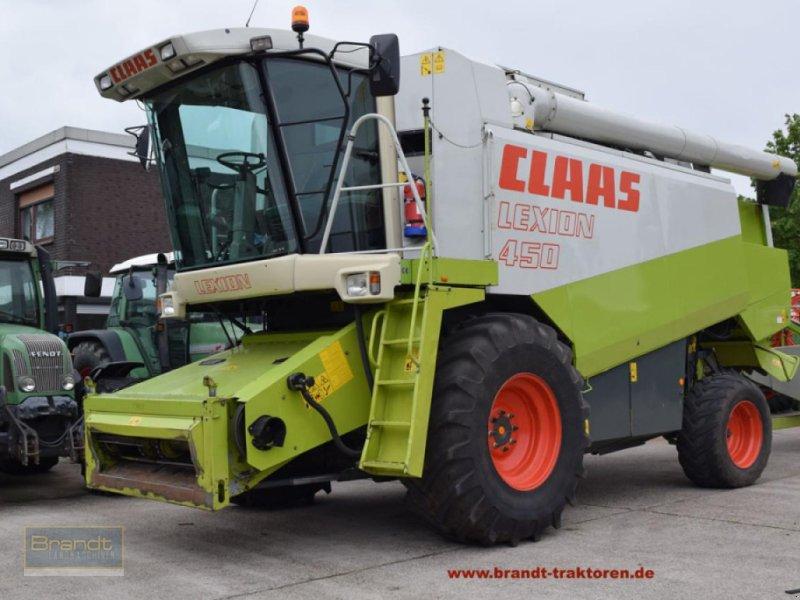 Mähdrescher des Typs CLAAS Lexion 450, Gebrauchtmaschine in Bremen (Bild 1)