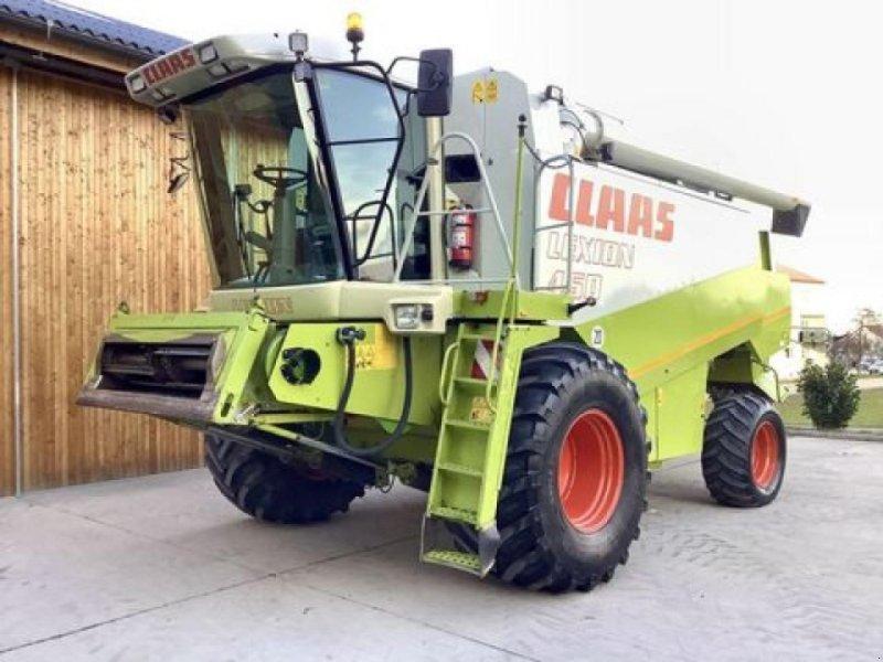 Mähdrescher des Typs CLAAS lexion 450, Gebrauchtmaschine in SIERNING (Bild 1)