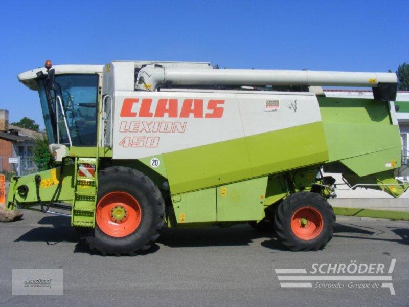 Mähdrescher des Typs CLAAS LEXION 450, Gebrauchtmaschine in Penzlin (Bild 1)