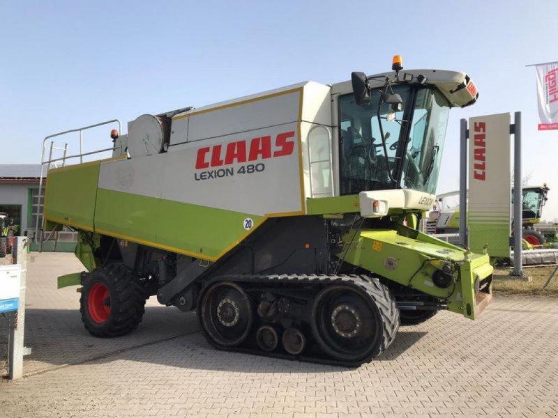 Mähdrescher des Typs CLAAS LEXION 480 TT, Gebrauchtmaschine in Moos-Langenisarhofen (Bild 1)