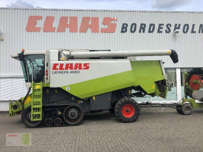 Mähdrescher des Typs CLAAS Lexion 480 TT, Gebrauchtmaschine in Bordesholm (Bild 1)