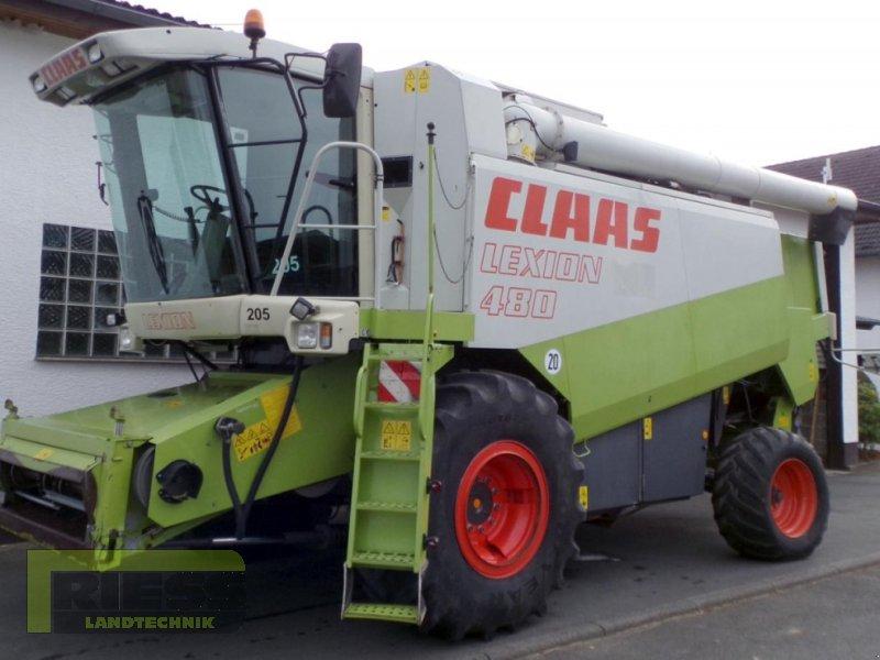 Mähdrescher del tipo CLAAS Lexion 480 + V 750, Gebrauchtmaschine en Homberg (Ohm) - Maul (Imagen 3)