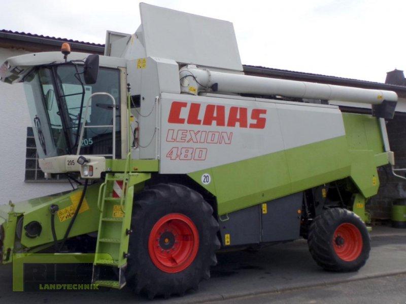 Mähdrescher del tipo CLAAS Lexion 480 + V 750, Gebrauchtmaschine en Homberg (Ohm) - Maul (Imagen 1)
