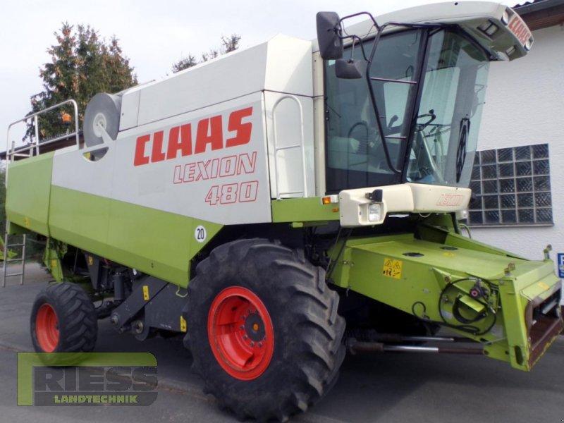Mähdrescher del tipo CLAAS Lexion 480 + V 750, Gebrauchtmaschine en Homberg (Ohm) - Maul (Imagen 10)