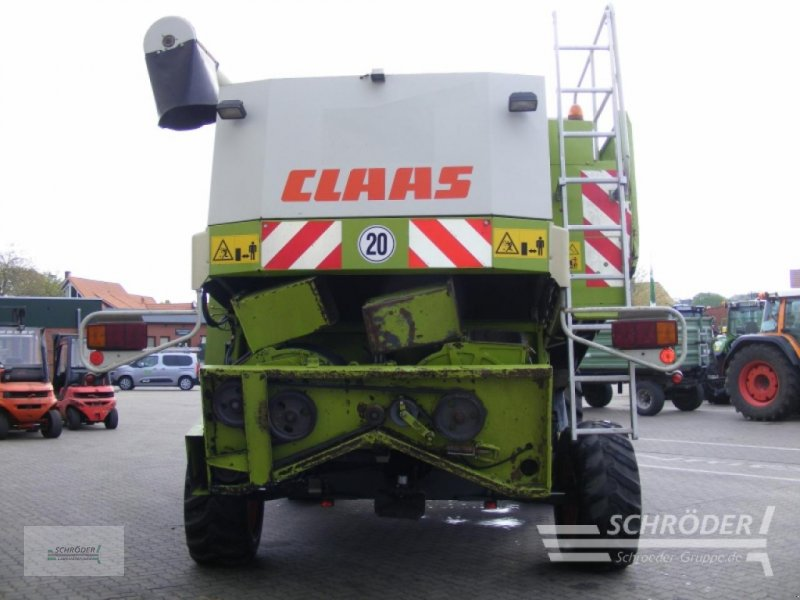 Mähdrescher des Typs CLAAS Lexion 480, Gebrauchtmaschine in Völkersen (Bild 4)