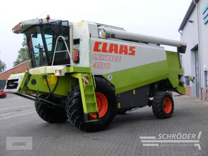 Mähdrescher des Typs CLAAS Lexion 480, Gebrauchtmaschine in Völkersen (Bild 2)