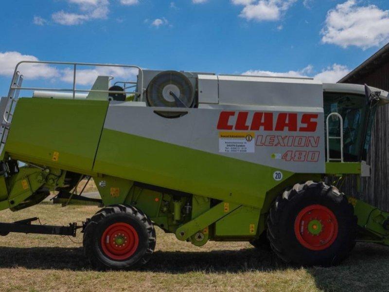 Mähdrescher des Typs CLAAS Lexion 480, Gebrauchtmaschine in Calden (Bild 1)