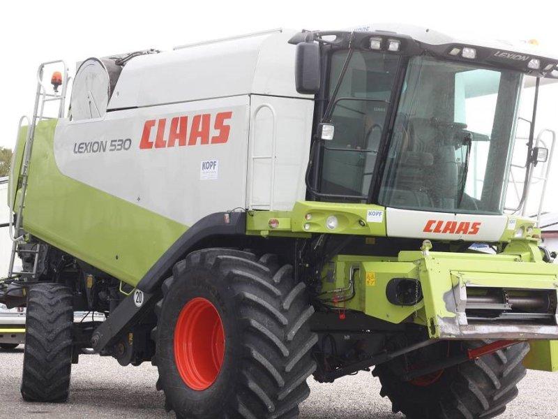 Mähdrescher des Typs CLAAS Lexion 530 Allrad, Gebrauchtmaschine in Schutterzell (Bild 1)