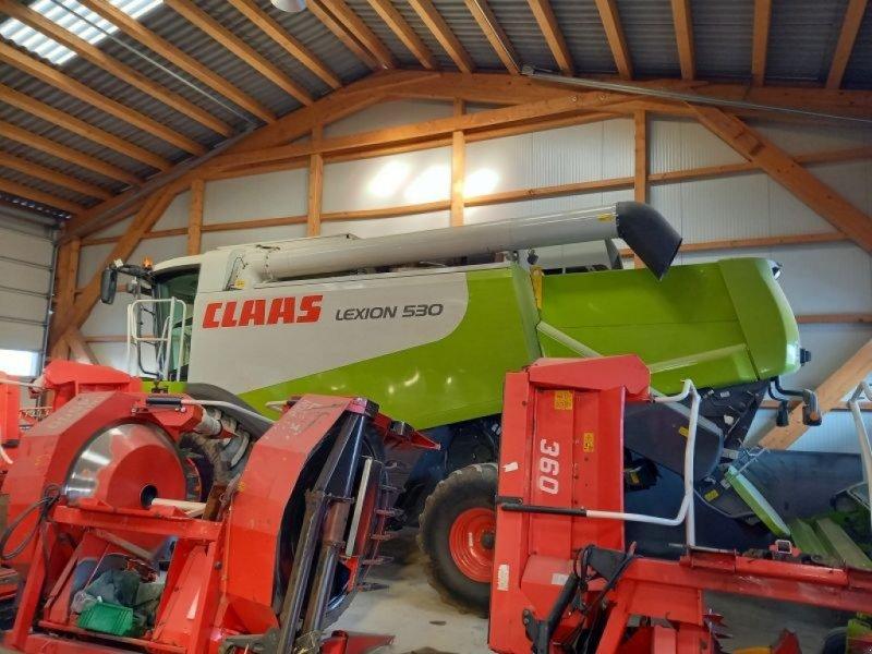 Mähdrescher des Typs CLAAS Lexion 530, Gebrauchtmaschine in Wiesmath (Bild 1)