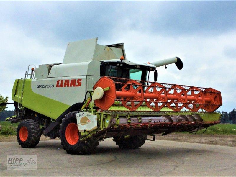 Mähdrescher des Typs CLAAS Lexion 560, Gebrauchtmaschine in Sauldorf (Bild 1)