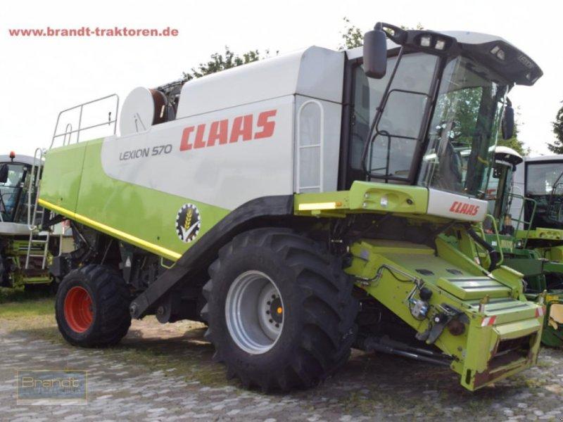 Mähdrescher del tipo CLAAS Lexion 570 *3-D*, Gebrauchtmaschine en Bremen (Imagen 1)
