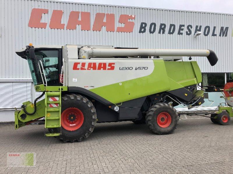 Mähdrescher del tipo CLAAS LEXION 570 Allrad, Gebrauchtmaschine en Bordesholm (Imagen 12)